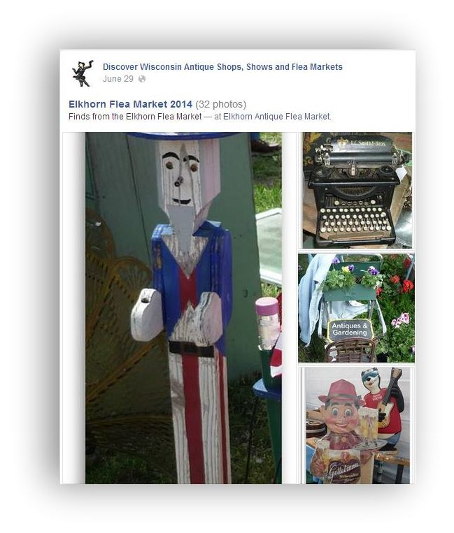 Wisconsin Antique Shops on Facebook