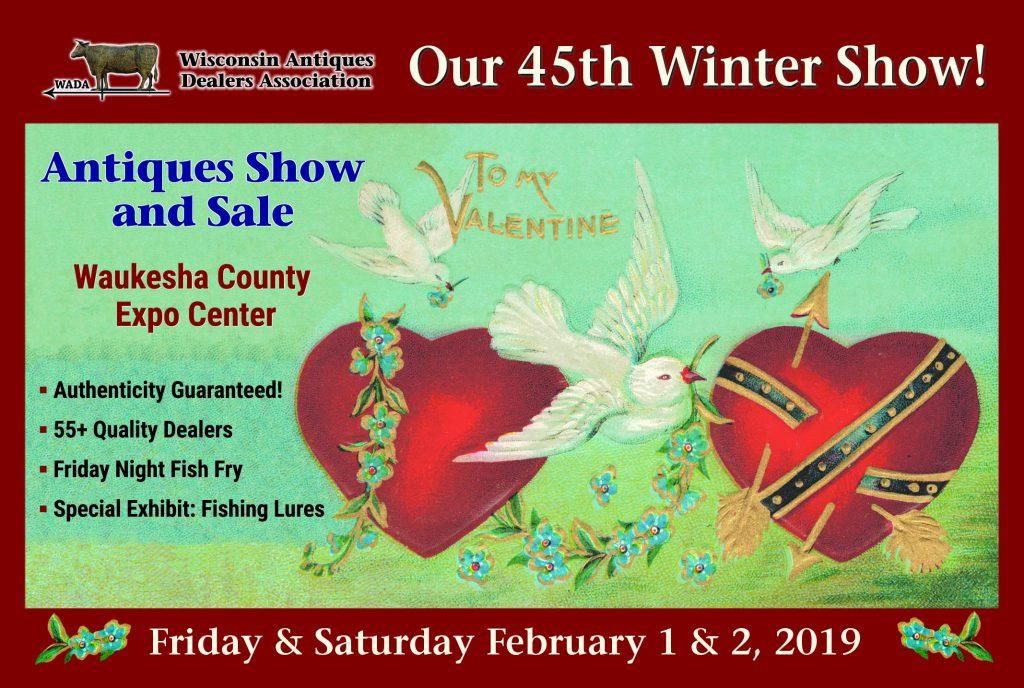 Winter Wisconsin Antiques Dealers Association Show & Sale