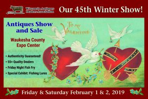 Wisconsin Antiques Dealers Association Show 2019 @ Waukesha Expo Center | Waukesha | Wisconsin | United States
