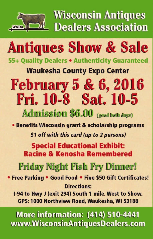 Wisconsin Antiques Dealers Association Show
