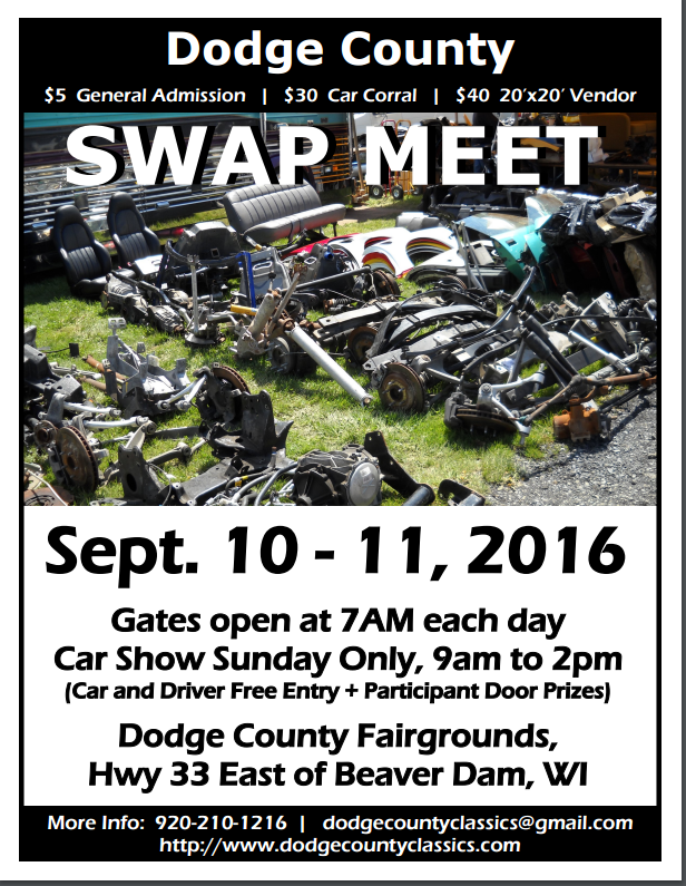 Dodge County Swap Meet & Car Show