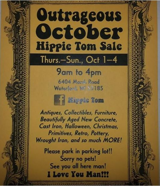Hippie Tom's Fall Sale 2015
