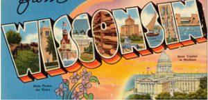 Wisconsin Vintage Post Card