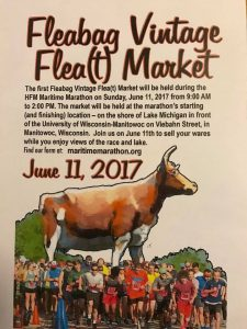 Fleabag Vintage Flea(t) Market Maritime Marathon Manitowoc, WI
