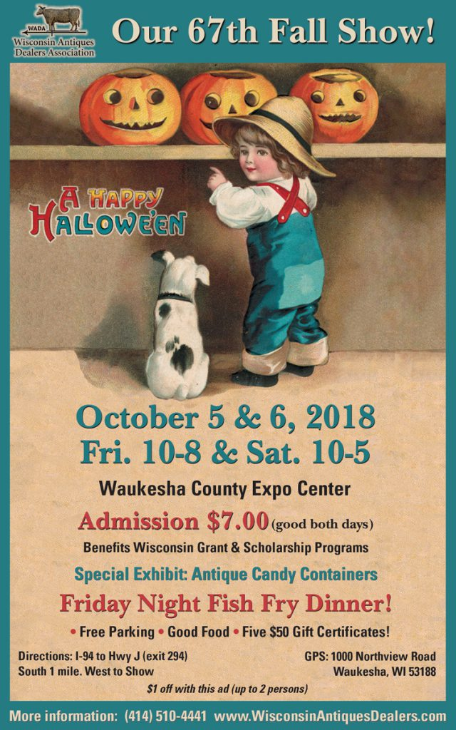 67th Wisconsin Antiques Dealers Show