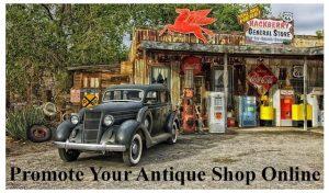 Promote Your Antique Shop Online