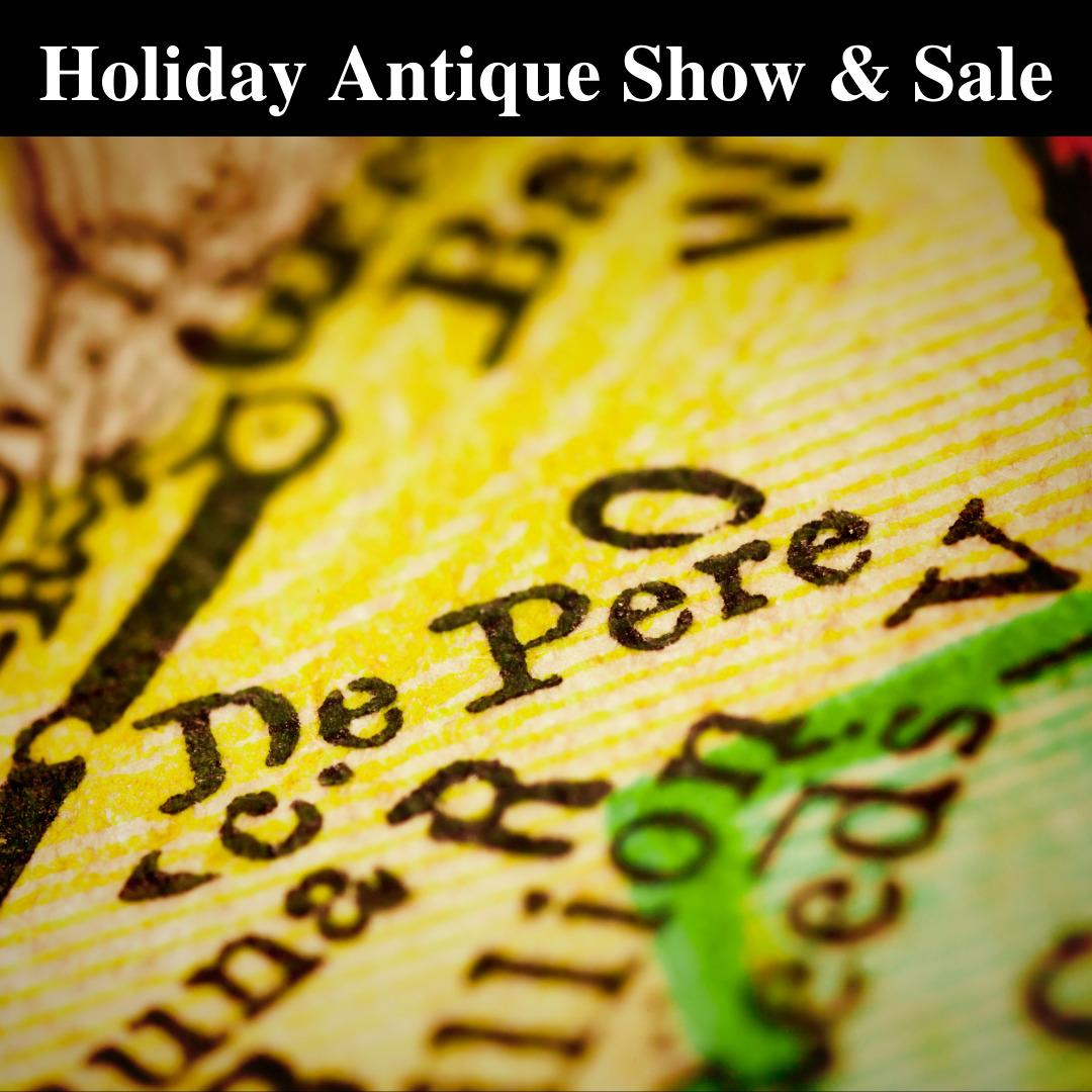 Green Bay & De Pere Holiday Antique Show