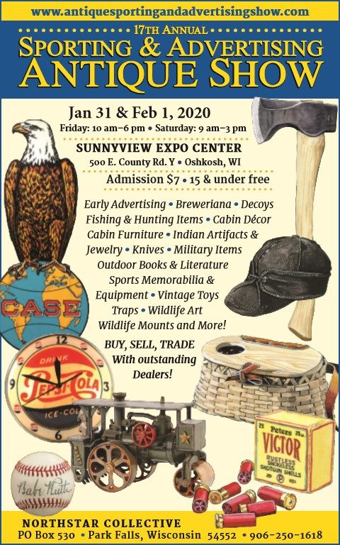 Antique Sporting Advertising Show