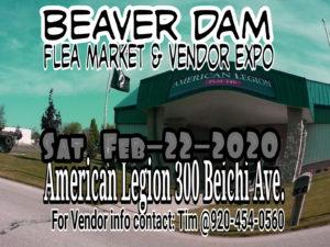 Beaver Dam Flea Market & Vendor Expo @ American Legion
