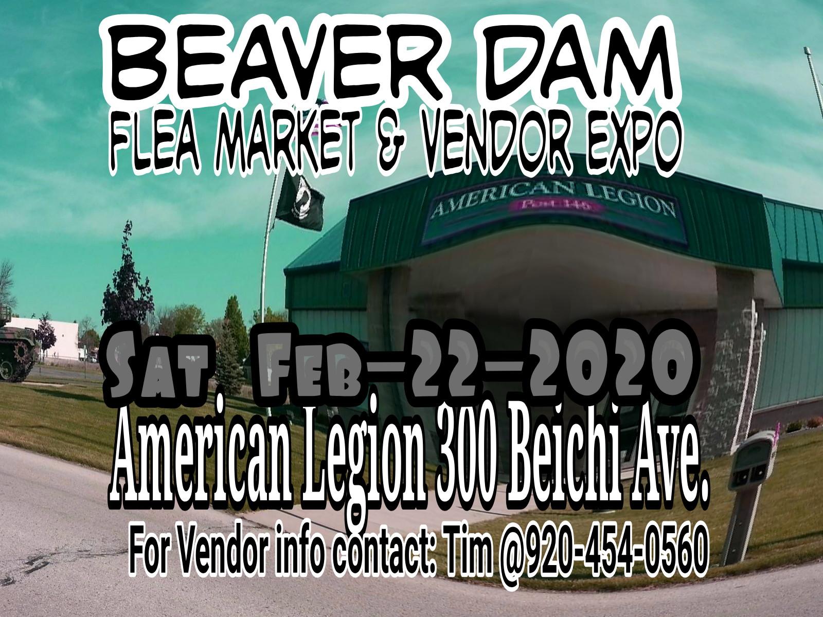 Beaver Dam Flea Market & Vendor Expo 2020