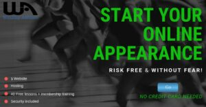 Start Your Online Appearance