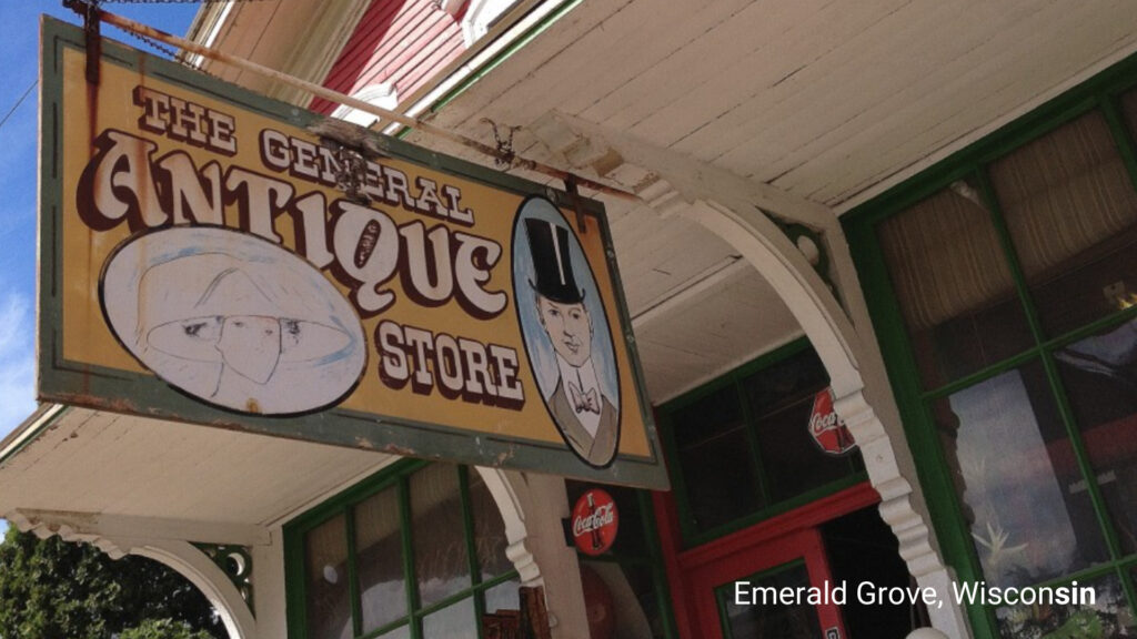 Emerald Grove Wisconsin Antique Shop