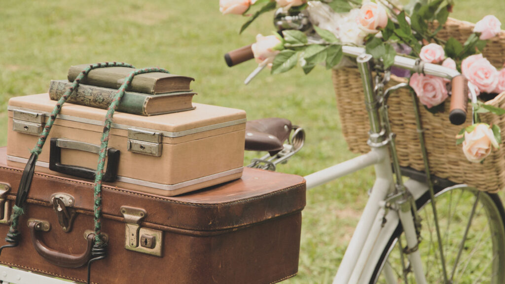 Decorating with Vintage Bicycles